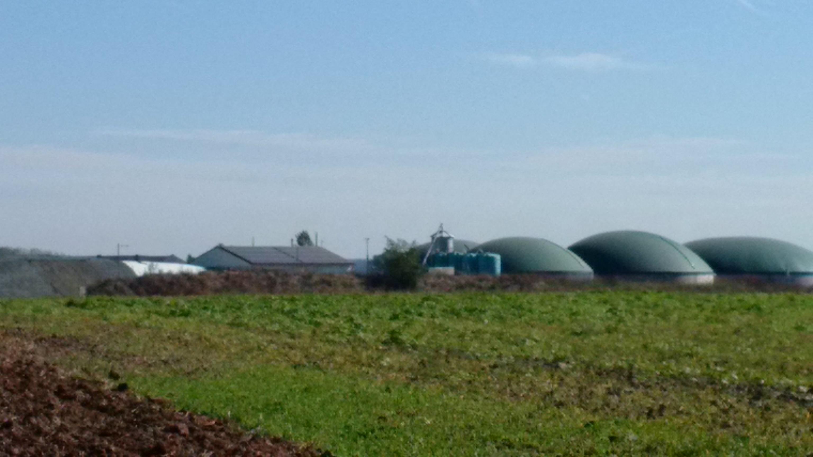 Installation méthanisation cuve Securitank biogaz